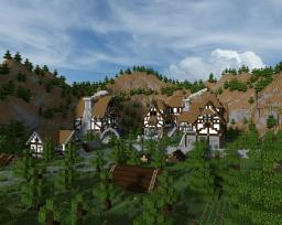 wood village project Minecraft Map & Project