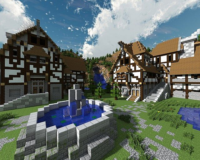 Wood Village Project Minecraft Project