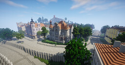 German Vacation Town Minecraft Map & Project