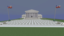 US Supreme Court Building Minecraft Map & Project