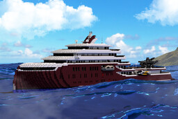 Hyperion Apocalypsis - Expedition Superyacht   Capitol Minecraft Map & Project