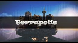 Terrapolis - The floating futuristic build Minecraft Map & Project