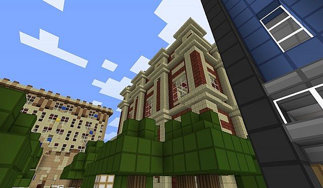 Minecraft Theatre Of The Arts Minecraft Project