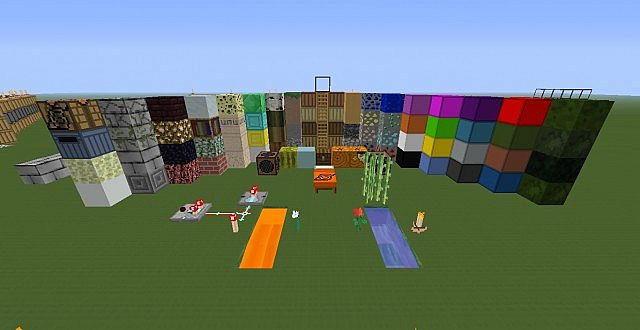 All blocks at time of creation, most are changed
