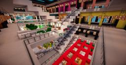 Mall of minecraft By Exorya (Neoxe Town Project) Minecraft Map & Project