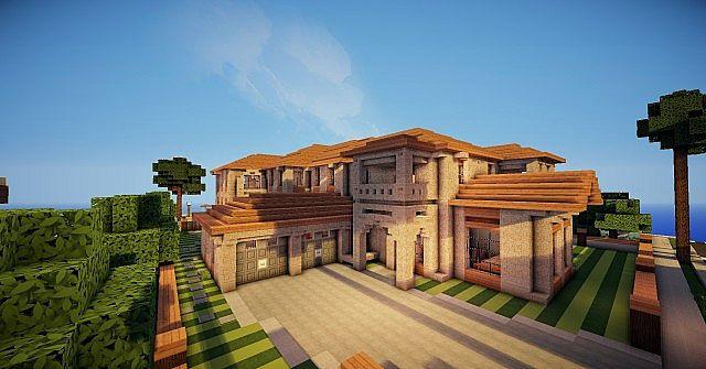 Spanish Style Mansion Minecraft Project