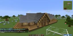 Log Cabin Mansion Minecraft Map & Project