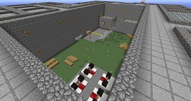 Cops Vs Prisoners Minecraft Project