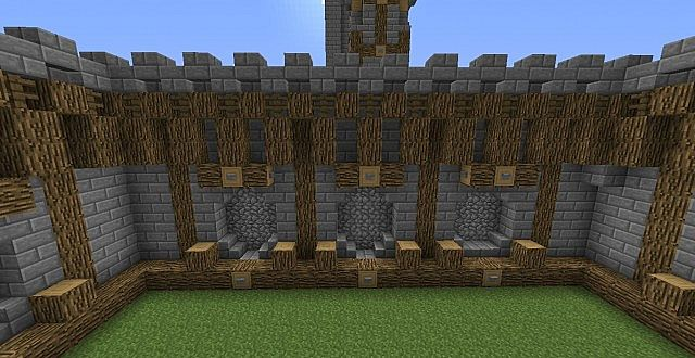 1000 images about minecraft walls on pinterest for Minecraft exterior wall design