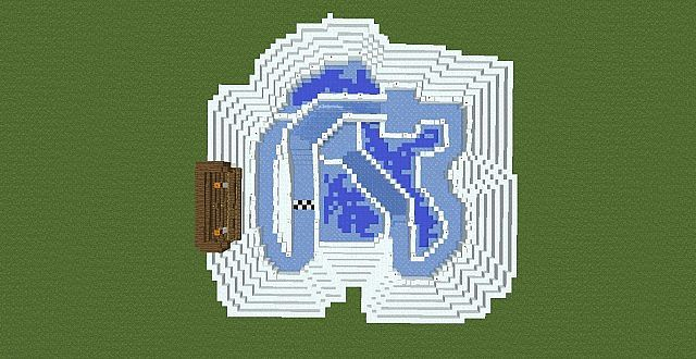 Ice Lake Mariokart Racing Map Minecraft Map Items within a stream of water travel quicker across the surface of this ice as well. ice lake mariokart racing map