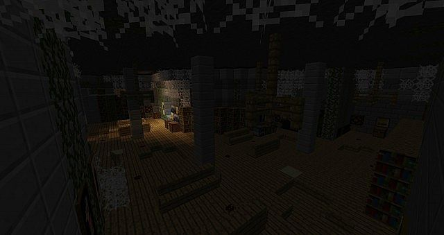 mine craft castle haunted castle horror map minecraft project 2443