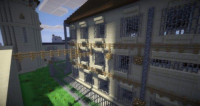 Fox River State Penitentiary Prison Break Minecraft Project