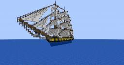 HMS Ariel Minecraft Map & Project