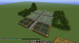 Gardens   *-*Wheat*-*Trees*-*Mushrooms*-* Minecraft