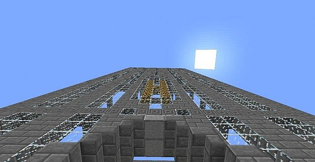 Herobrine Tower Incomplete Minecraft Project