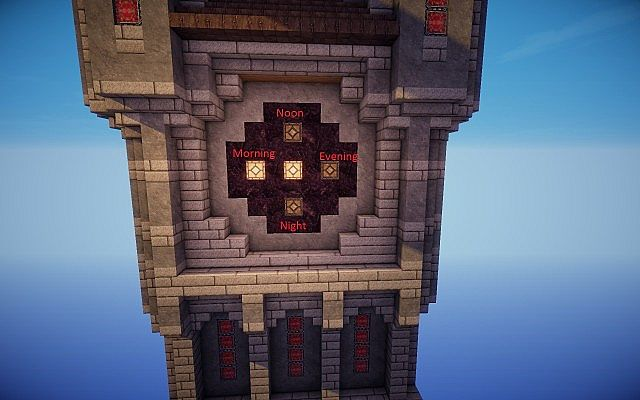 Clock Cycles. Guruth s Medieval Clock Towers  Now functional  Minecraft Project