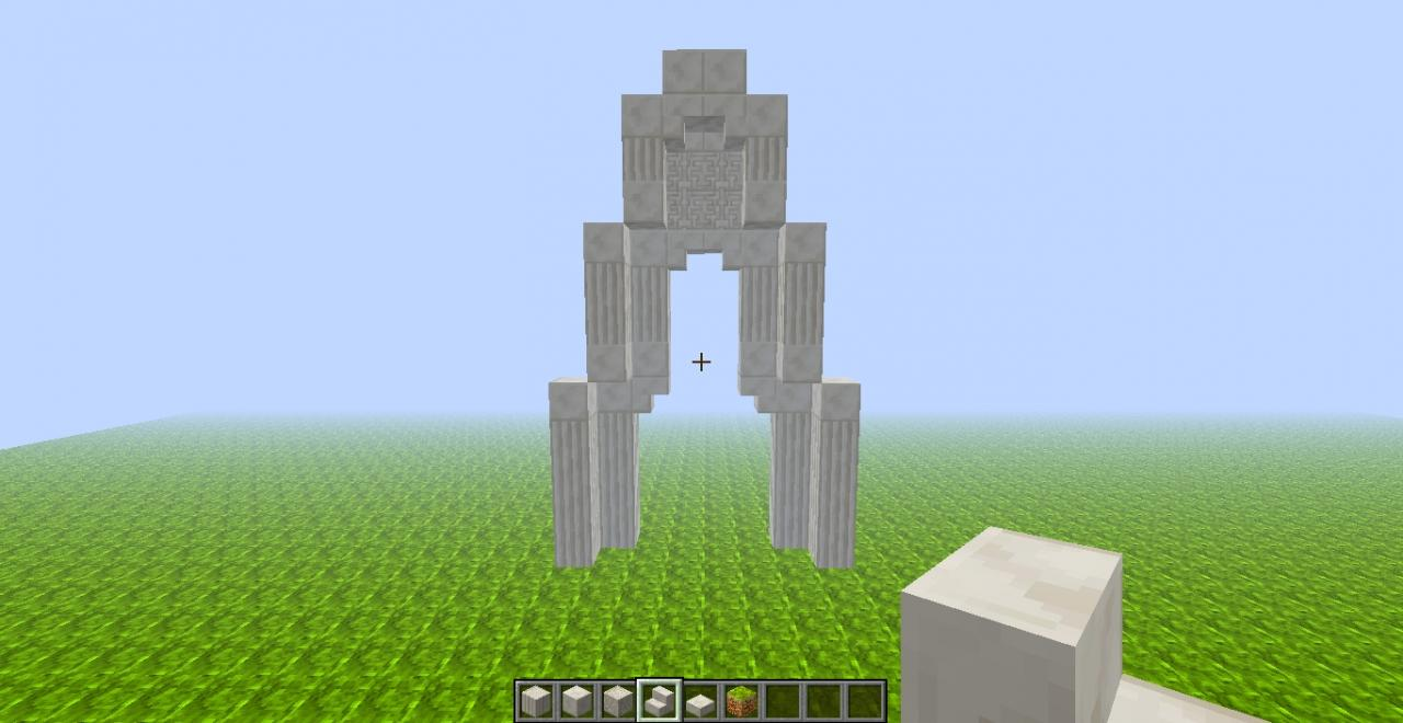 How To Build An Arch Minecraft Blog