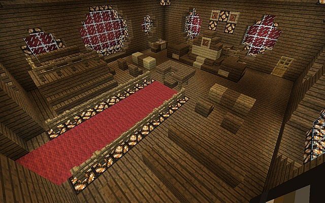 Courthouse Set Minecraft Project