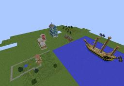 Small Town Minecraft Map & Project