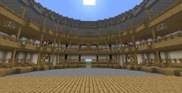 The Globe Theatre Minecraft Map & Project