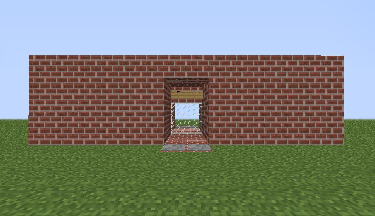 Redstone Doors Minecraft Project