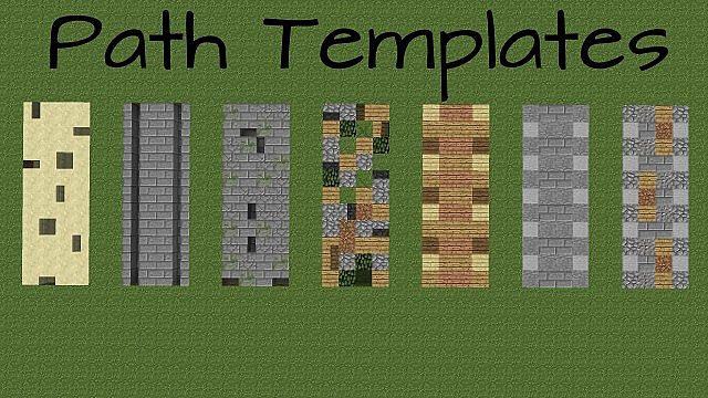 Path Templates Minecraft Project