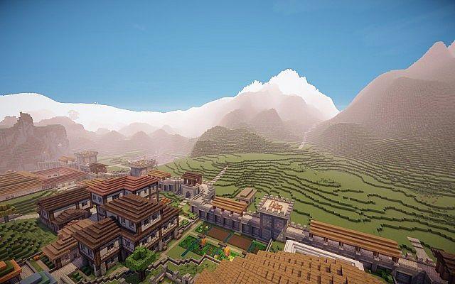 New mountains