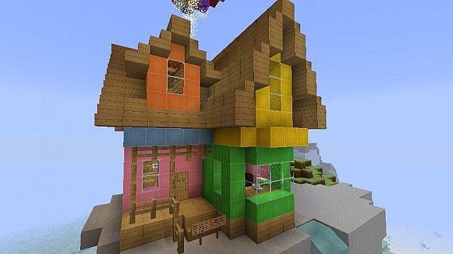 Майнкрафт мультик как сделать красивый дом