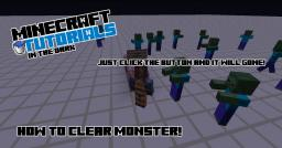 [Adventure Map Tips] How to clear a monster! Minecraft Blog
