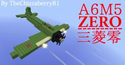A6M5 Zero - WWII Fighter Plane Minecraft Map & Project
