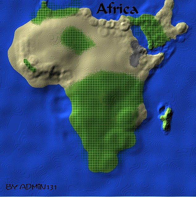Africa Minecraft Project