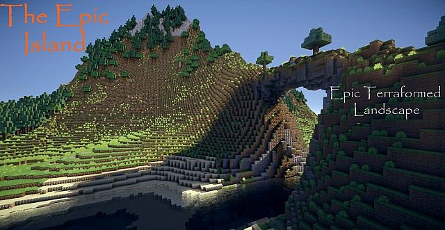 Epic Giant Island Minecraft Project