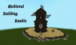 Medieval/Nordic Building Bundle Minecraft Map & Project
