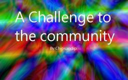 I Challenge You! Minecraft Blog