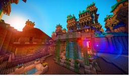 Big Ol' Casle! Minecraft Map & Project
