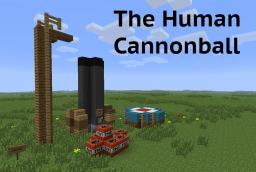 Human Cannonball Minecraft Map & Project