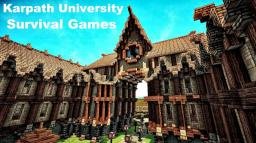Karpath University Survival Games - Contest Entry (Now With Download) Minecraft