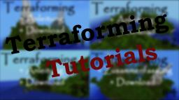 Terraforming Tutorials [WorldEdit] - in German Minecraft Map & Project