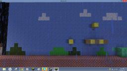 Minecraft games: Super Mario Bros Minecraft Project
