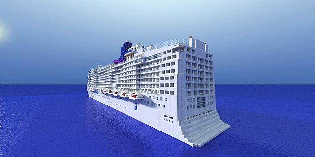 Norwegian EPIC Scale Cruise Ship Download Minecraft Project - Norwegian epic cruise