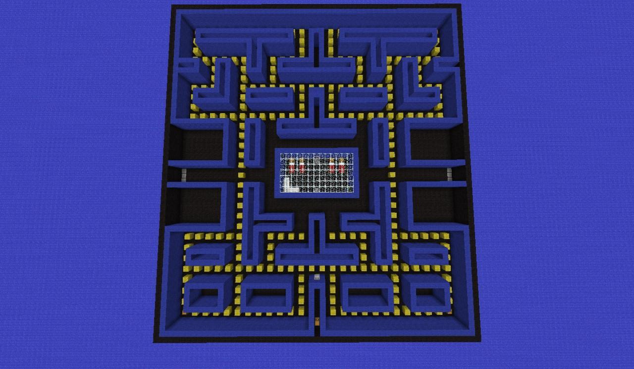 Pac-Man Minecraft Project
