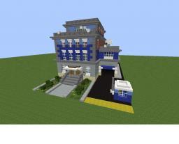 Simcity 5 Police station Minecraft Map & Project