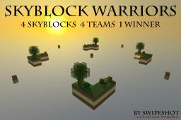 Skyblock Warriors - 4 Skyblocks, 4 Teams, 1 Winner! (SkyWars) Minecraft