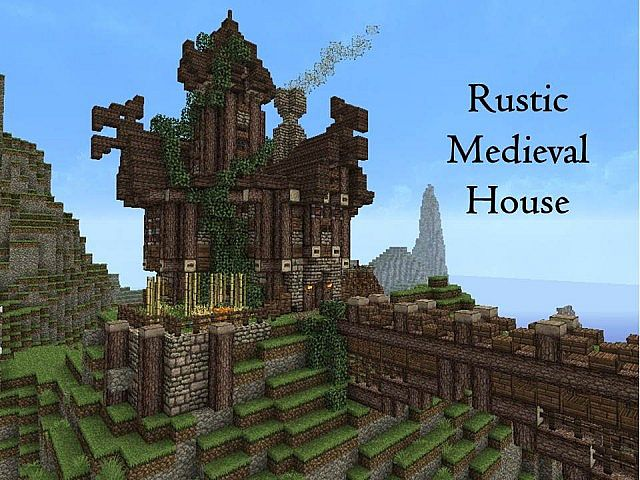 Rustic Medieval House Minecraft Project