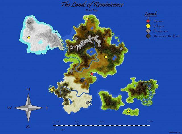 SurvivalAdventure The Lands of Reminiscence large custom