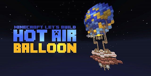 how to build in the air minecraft