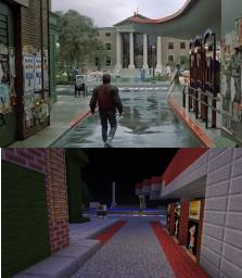 Hill valley 2015 Minecraft Project