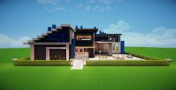 Modern House 3 The Noob One Minecraft Map & Project