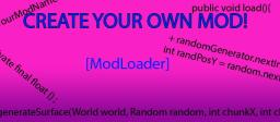 [1.5.2][ModLoader] Create your own mod! [OUTDATED] Minecraft Blog Post