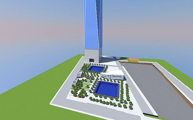 New World Trade Center 1 1 Minecraft Project